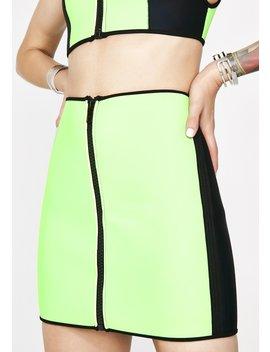 deadly-dip-neoprene-skirt by current-mood