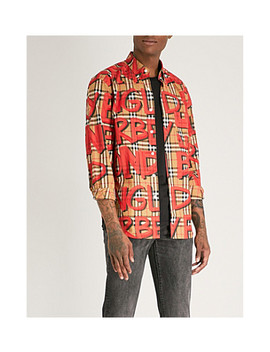 jameson-regular-fit-cotton-poplin-shirt by burberry