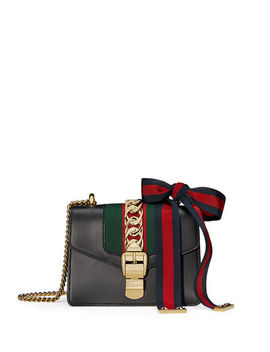 sylvie-leather-mini-chain-shoulder-bag by gucci