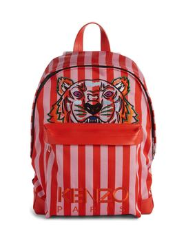 kanvas-embroidered-tiger-stripe-backpack by kenzo