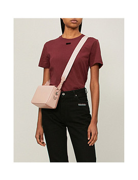 arrow-flocked-cotton-jersey-t-shirt by off-white-c_o-virgil-abloh
