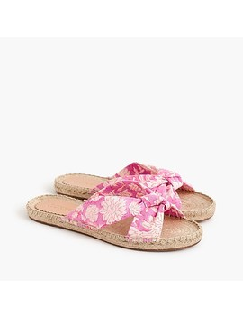 knotted-espadrille-slides-in-sz-blockprints-floral by jcrew