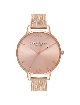 olivia-burton-ob16bd102-womens-sundial-mesh-bracelet-strap-watch,-rose-gold_pink by olivia-burton