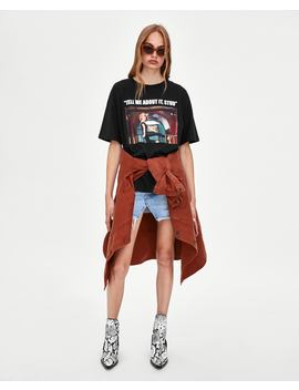grease®-print-t--shirtview-all-t-shirts-woman by zara