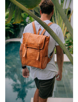 leather-backpack by etsy
