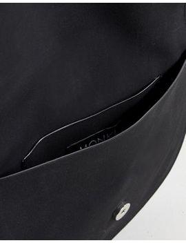 monki-ring-detail-cross-body-bag-in-black by monki