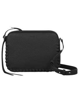 allsaints-kepi-mini-leather-cross-body-bag,-black by allsaints