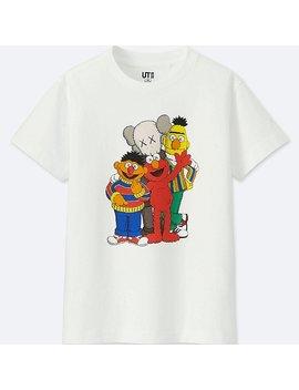 Kids Kaws X Sesame Street T Shirt by Uniqlo