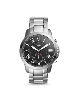 hybrid-smartwatch-–-q-grant-stainless-steel by fossil