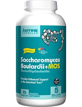 jarrow-formulas-saccharomyces-boulardii-+-mos,-5-billion-cells-per-capsule,-promotes-intestinal-and-digestive-health,-90-veggie-capsules by jarrow