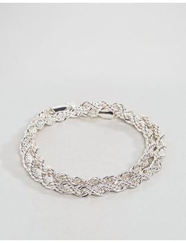 chained-&-able-–-doppelt-gewickeltes-kordelketten-armband-in-silber by chained-&-able