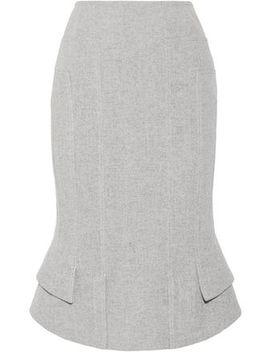 asymmetric-wool-blend-skirt by tom-ford