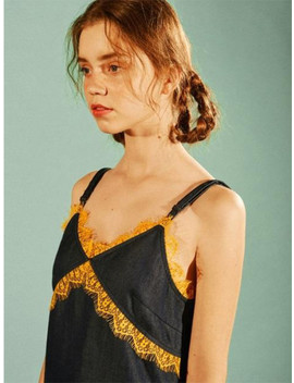 lace-denim-dress---blue-eeog2opr04w by eyeye