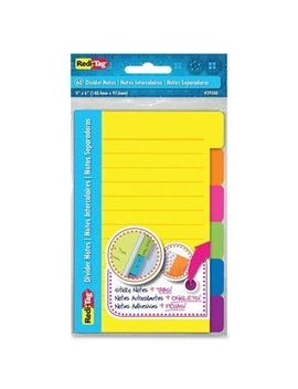 redi-tag-corporation-4-x-6-60-count-divider-note by generic