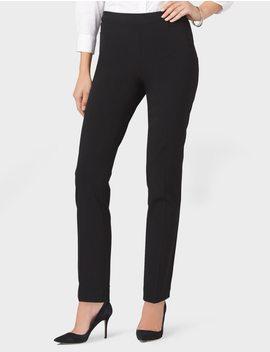secret-agent-slim-leg-pants,-short by dressbarn