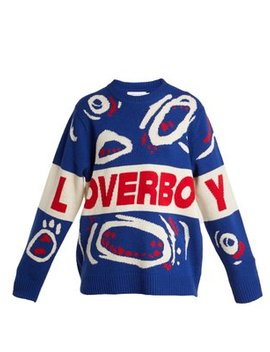 out-and-raging-wool-sweater by charles-jeffrey-loverboy
