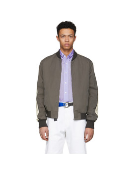 grey-island-conrad-bomber-jacket by stella-mccartney