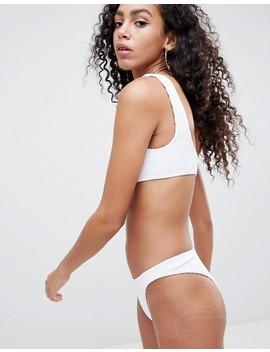 braguitas-de-bikini-de-pernera-alta-y-diseño-de-tiro-bajo-de-efecto-arrugado-mix-and-match-de-asos by asos
