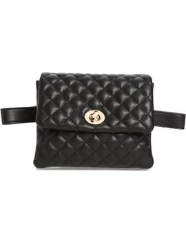mali-+-lili-quilted-vegan-leather-convertible-belt-bag by mali-and-lili
