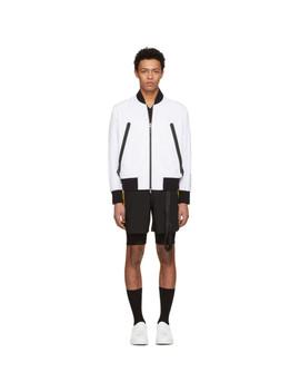 white-heatseal-pocket-bomber-jacket by blackbarrett-by-neil-barrett
