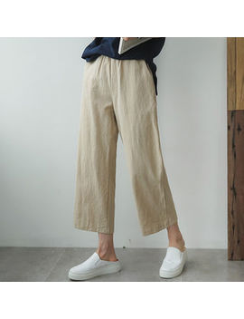 cropped-wide-leg-pants by envy-look