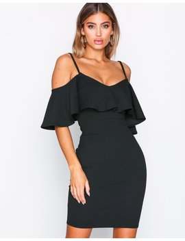 off-shoulder-strap-dress by nly-one