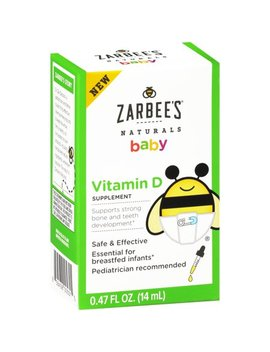 zarbees®-naturals-baby-vitamin-d-supplement,-047-fl-oz-box by zarbees-naturals