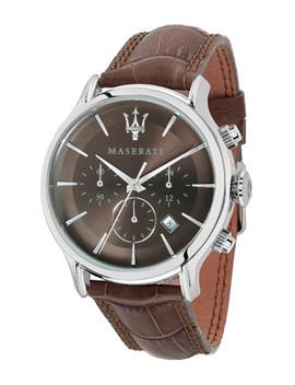 maserati-men-brown-&-grey-analogue-watch by maserati