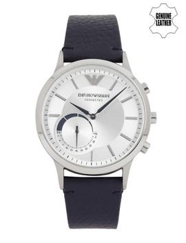 emporio-armani-connected-men-silver-toned-hybrid-smart-watch-art3003 by emporio-armani