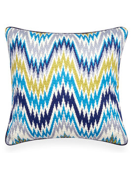 turquoise-bargello-worth-avenue-throw-pillow by jonathan-adler