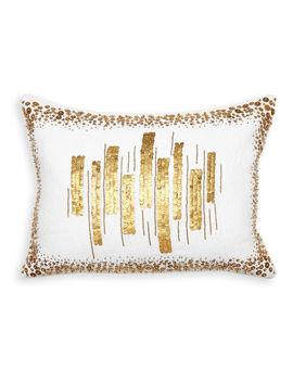 Talitha Bars Throw Pillow by Jonathan Adler