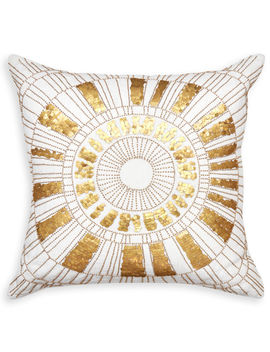 Talitha Sunburst Throw Pillow by Jonathan Adler