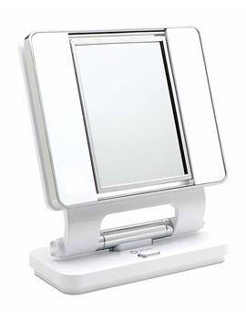 ottlite-b92003-26-watt-natural-daylight-makeup-mirror,-white_chrome by amazon