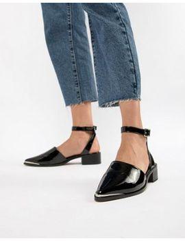 asos-design-mamba-pointed-flat-shoes by asos-design