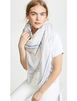 metallic-stripe-scarf by rag-&-bone