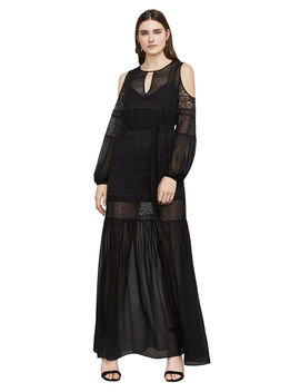 Farah Cold Shoulder Maxi Dress by Bcbgmaxazria