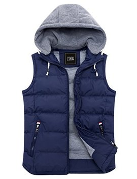 zshow-womens-winter-padded-vest-removable-hooded-outwear-jacket by zshow