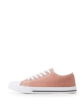 qupid-canvas-lace-up-sneakers by charlotte-russe