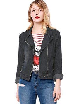 allegra-k-womens-notched-lapel-asymmetric-zip-closure-moto-denim-jacket by allegra-k