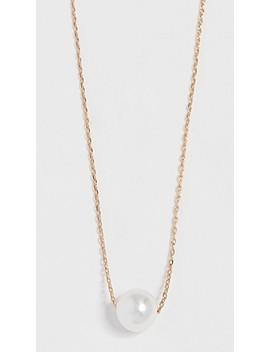 petite-swarovski-imitation-pearl-necklace by theia-jewelry