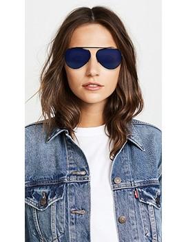 single-bridge-aviator-sunglasses by victoria-beckham