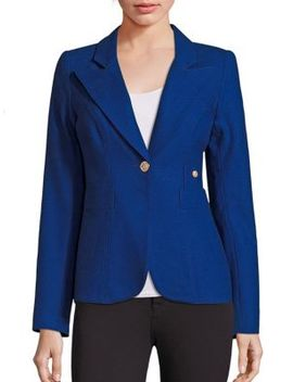 duchess-wool-blend-blazer by smythe