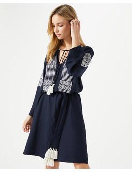 embroidered-kaftan-dress by jigsaw