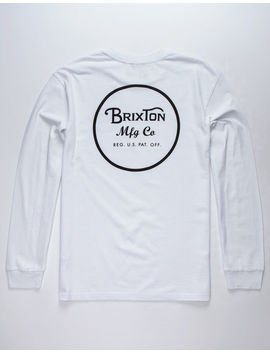 brixton-wheeler-mens-t-shirt by brixton