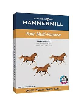 hammermill---papier-multiusage,-20-lb,-format-a4,-rame by staples