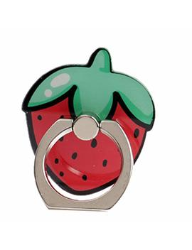 nurbo-cute-fruit-shape-phone-ring-360-degree-rotating-ring-grip-anti-drop-finger-holder-for-iphone-ipad-and-all-cellphone-(strawberry) by nurbo