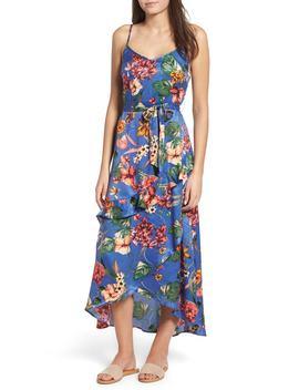 gabriella-floral-satin-dress by band-of-gypsies