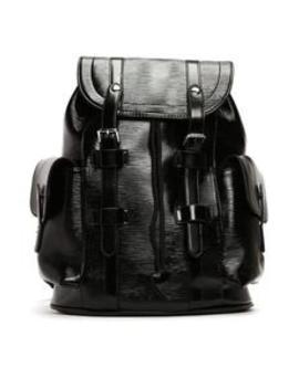 polished-backpack---black by fashion-nova