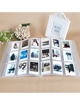 caiul-compatible-288-pockets-3-inch-mini-photo-album-for-fujifilm-instax-mini-7s-8-8+-9-25-26-50s-70-90-film,-ticket-holder,-name-card-(clear) by caiul