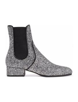 glittered-leather-ankle-boots by jimmy-choo